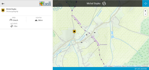 Manualuserguidefunctionsshare Locus Map Knowledge Base - What's the elevation at my location