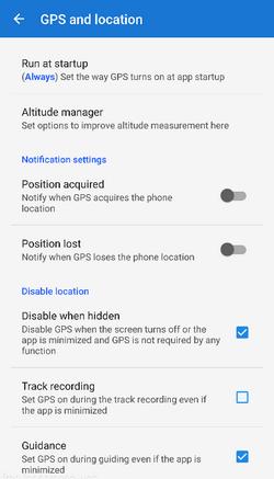 Manualuserguidesettingsgps Locus Map Knowledge Base - Altitude measurement app